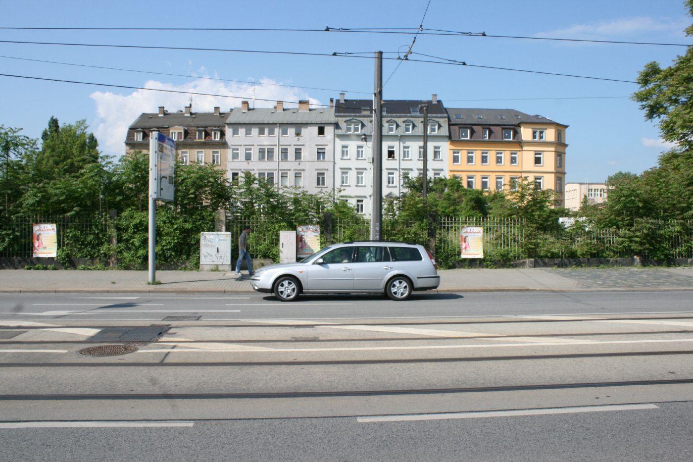Leipziger Str Stadtausw Rts Gegangen Richtung Mickten